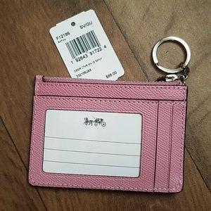 Coach Bags - Coach Mini Skinny ID Case F12186 Tulip Leather